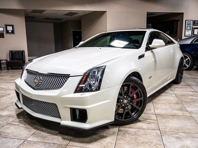 1G6DV1EP6D0137158 - 2013 Cadillac CTS-V Coupe White ...