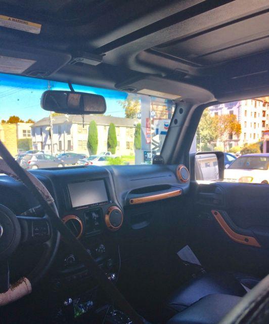 1c4bjweg5dl593244 2013 Custom Jeep Wrangler Unlimited Sahara