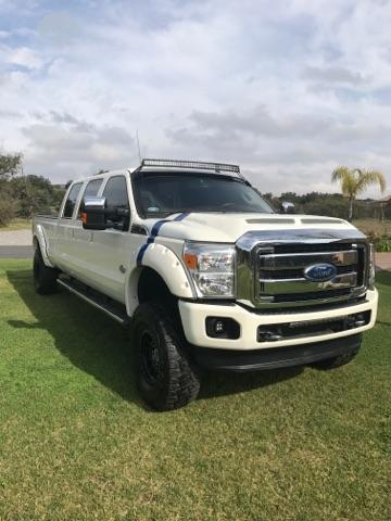 1ft8w3bt0dea34555 2013 Ford F350 Custom 6 Door Truck King Ranch Stretched Limo Six F250 F450