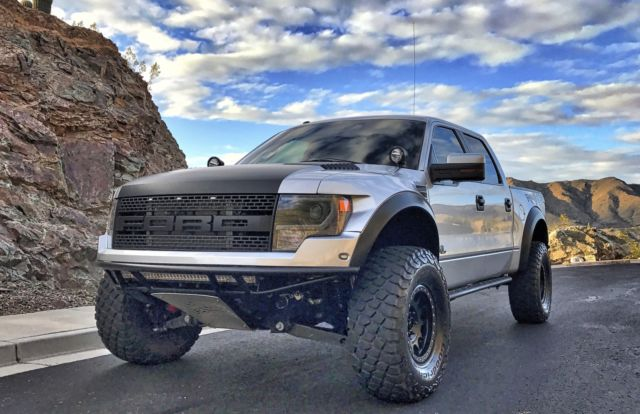 1FTFW1R66DFC65837 - 2013 Ford Raptor Crew Cab Roush ...
