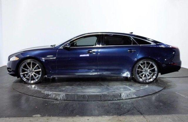 sajwa2ge8dmv43455 2013 jaguar xj xjl supercharged 30610 miles indigo blue sedan 5 0l dohc 32 valve. Black Bedroom Furniture Sets. Home Design Ideas