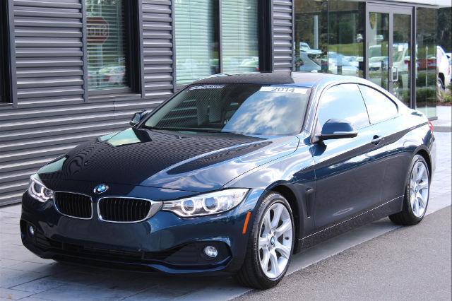 Wba3n3c54ef711256 2014 Bmw 428i I 26500 Miles Midnight Blue Metallic Coupe 2 0l 4 Cyls 8 Speed Aut