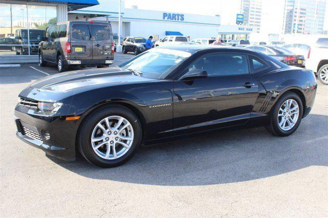 2g1fa1e31e9320188 2014 Chevrolet Camaro Ls Coupe Automatic Black Gasoline Fuel V6 3 6l 217