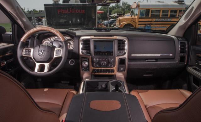 1c6rr7wtxes164611 2014 Dodge Ram 1500 Laramie Longhorn Edition Crew Cab Truck Rambox Navigation