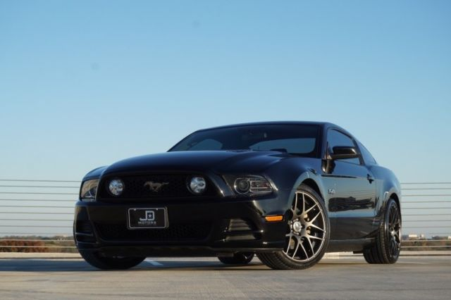 1zvbp8cf9e5251416 2014 ford mustang gt coupe premium w 6 speed manual 35730 miles black coupe 50 - 2014 Ford Mustang Gt Black