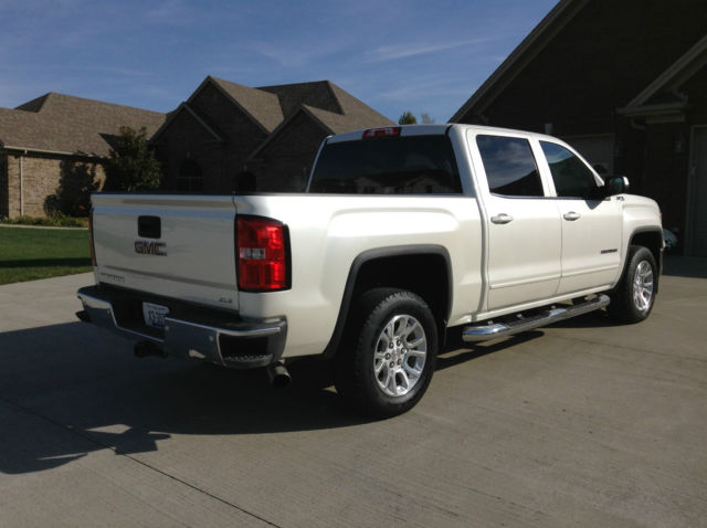 3gtu2uec8eg319607 2014 gmc sierra sle z71 4x4 crew cab rebuilt title. Black Bedroom Furniture Sets. Home Design Ideas
