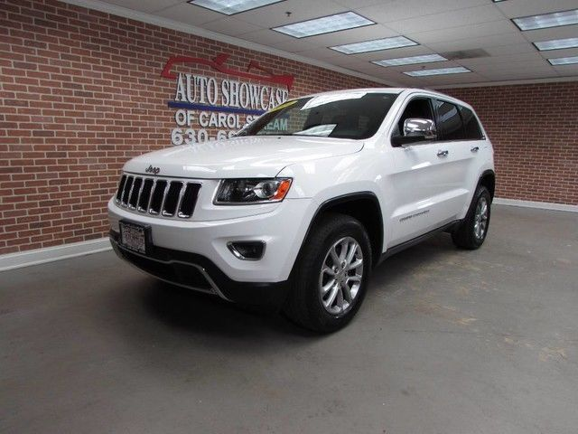 1c4rjfbg4ec233743 2014 jeep grand cherokee limited v6 4x4 navi roof one owner low miles white. Black Bedroom Furniture Sets. Home Design Ideas