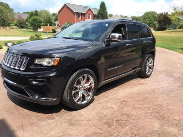 1c4rjfjt3ec445452 2014 jeep grand cherokee summit srt wheels. Black Bedroom Furniture Sets. Home Design Ideas