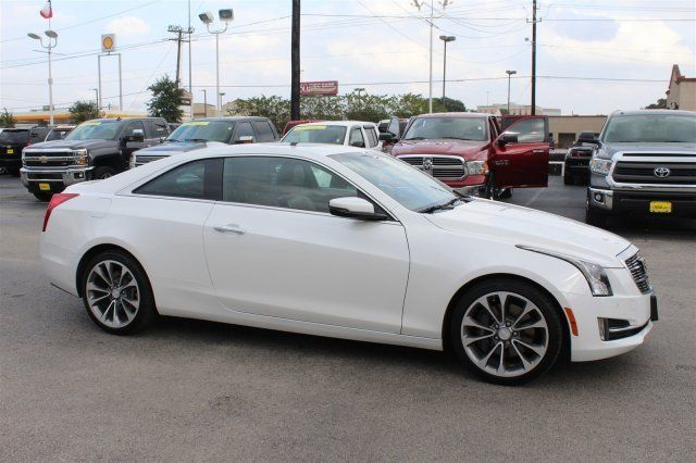 1g6ab1rx0f0118436 2015 Cadillac Ats Coupe Luxury Rwd Coupe Automatic Crystal White Tricoat Turboch