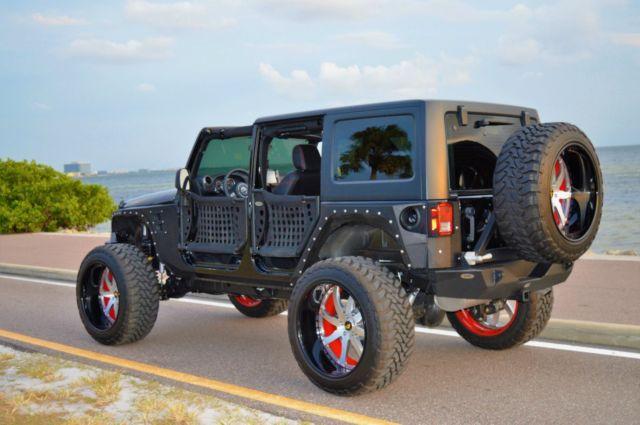 1c4bjwdg4fl639103 2015 custom jeep wrangler. Black Bedroom Furniture Sets. Home Design Ideas