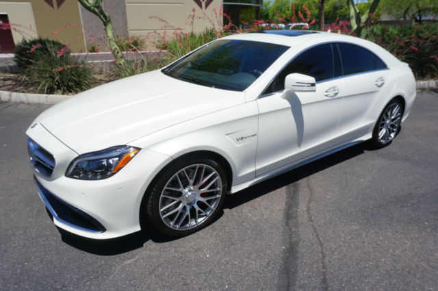Image gallery cls 550 white 2016 for 2016 mercedes benz cls550 4matic