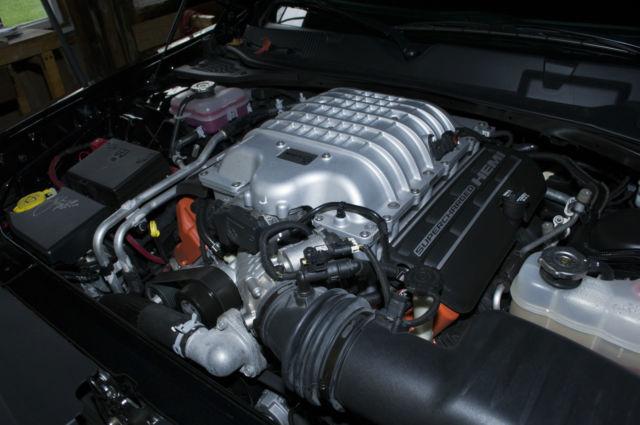 2c3cdzc99fh815953 2015 Dodge Challenger Hellcat Black Black W Red Alcantara Suede Interior