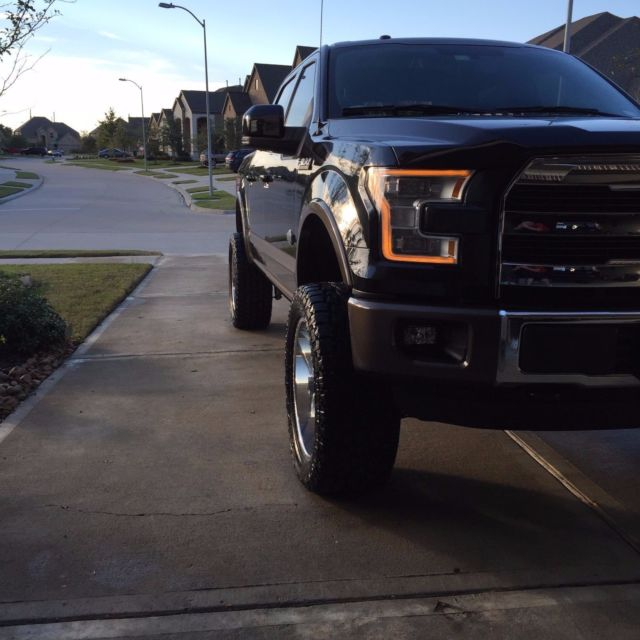Ford King Ranch Interior: 2015 Ford F-150 King Ranch Crew Cab