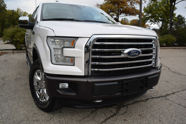 1ftew1ef4fkd07658 2015 ford f 150 lariat crew cab pickup 4 door 5 0l 4wd pano navi 2 keys tow hid. Black Bedroom Furniture Sets. Home Design Ideas