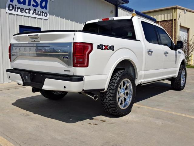 1ftew1ef6ffa79669 2015 Ford F 150 Platinum 4x4 Fully Loaded Custom
