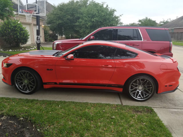 1fa6p8cf3f5412967 2015 ford mustang gt 50th anniversary edition competition orange custom. Black Bedroom Furniture Sets. Home Design Ideas