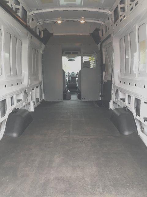 Ford T Transit Cargo Van Long Wheel Base High Roof Extended Length on Ford 3 7 V6 Engine