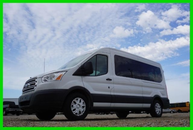 1fbax2cmxfka97882 2015 ford transit t350 xlt 15 passenger w only 15k miles sitting in new york. Black Bedroom Furniture Sets. Home Design Ideas