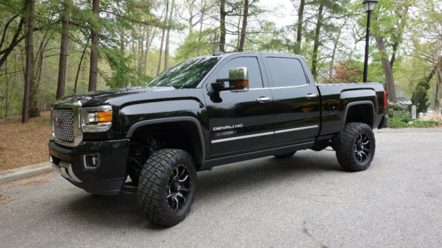 1gt120e83ff590083 2015 gmc sierra 2500 denali duramax plus rancho lift black financing clean nav. Black Bedroom Furniture Sets. Home Design Ideas