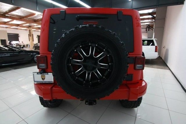 Jeep Wrangler Unlimited Rubicon Suv Upgrades Uconnect Navi Loaded