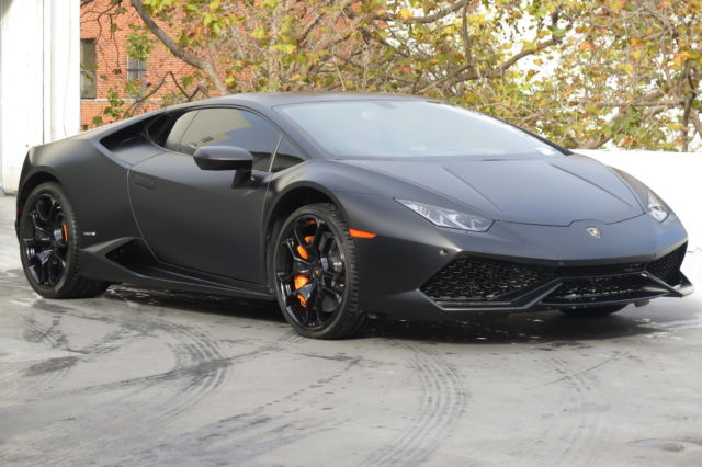 Zhwuc1zf3fla01344 2015 Lamborghini Huracan Lp610 4 In Nero Nemesis