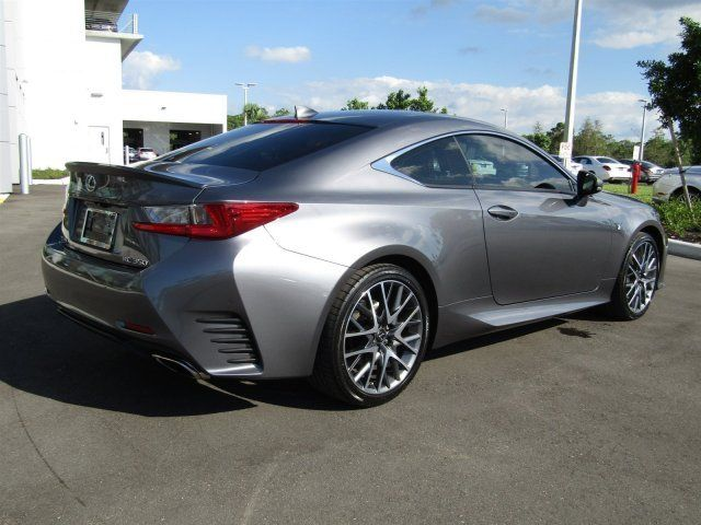 Mercedes Benz Of Bonita Springs >> 2015 Lexus RC 350 350 Nebula Gray Pearl Premium Unleaded V ...