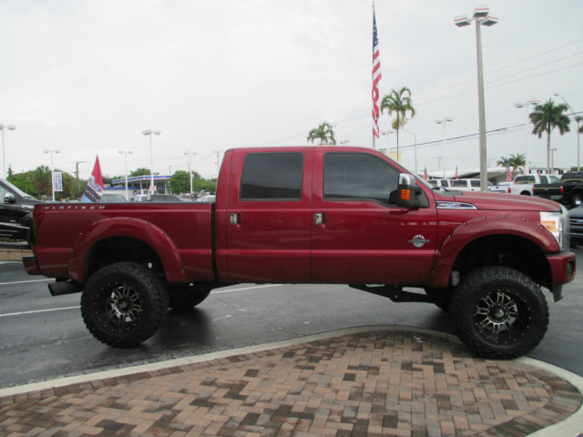 Ford 6.7 Diesel >> 1FT7W2BTXFEC31080 - 2015 LIFTED FORD F250 PLATINUM CREW CAB DIESEL 4X4