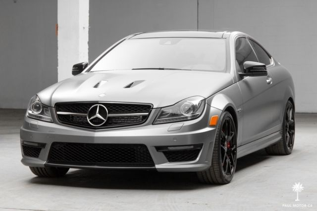 Wddgj7hb3fg391340 2015 mercedes benz c63 amg edition 507 for Mercedes benz c63 amg black edition
