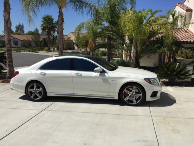Wddug7jb4fa174491 2015 mercedes benz s63 amg white on for Mercedes benz msrp