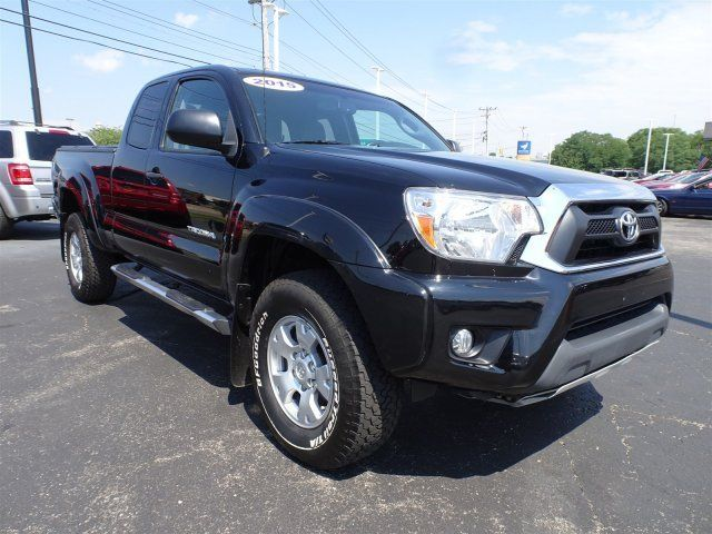 5tfuu4en8fx111414 2015 toyota tacoma 20416 miles black extended cab pickup regular unleaded v 6 4. Black Bedroom Furniture Sets. Home Design Ideas