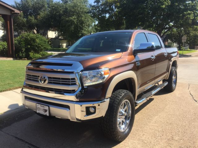 5tfaw5f17fx460322 2015 Toyota Tundra 4x4 Special Edition 1794 Only 7 700 Miles Like New