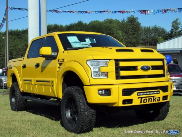 Ford F150 Tonka >> 1FTEW1EF5GKE66366 - 2016 4WD Ford F150 SuperCrew Tonka Limited Edition Shelby Supercharged!