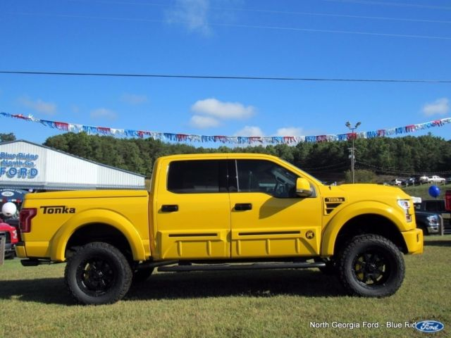 Wd Ford F Supercrew Tonka Limited Edition Shelby Supercharged