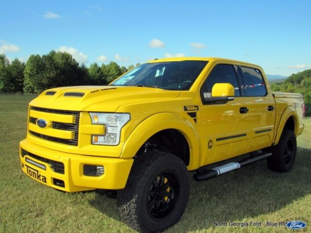 1ftew1ef5gke66366 2016 4wd ford f150 supercrew tonka limited edition shelby supercharged. Black Bedroom Furniture Sets. Home Design Ideas