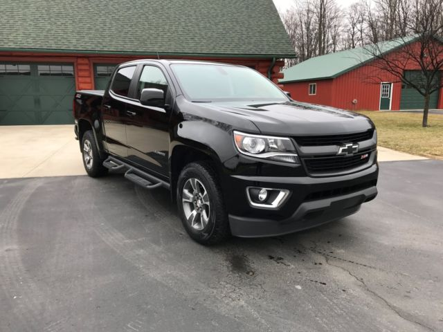 1gcgtde33g1116121 2016 chevrolet colorado z71 crew cab short box 4wd like new. Black Bedroom Furniture Sets. Home Design Ideas