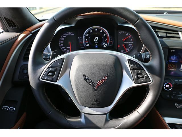2016 Chevrolet corvette stingray, LONG BEACH RED with 16 ...