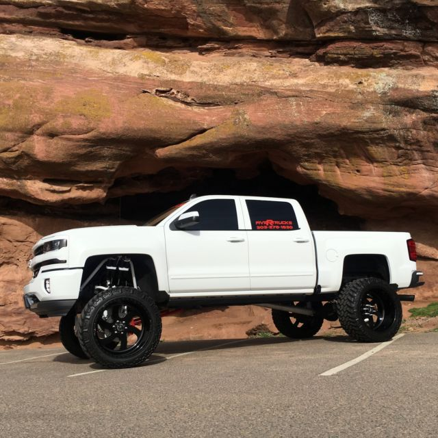 Lifted Chevy Colorado >> 3gcukrec6gg131619 - 2016 Chevrolet Silverado Z71 Lifted Custom 4X4 Show Truck