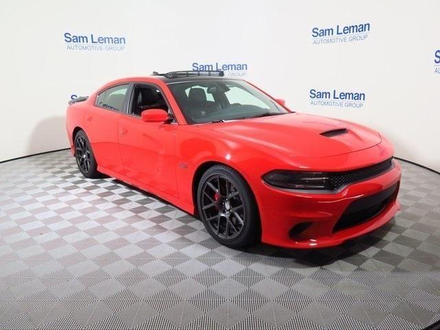 Sam Leman Morton Illinois >> 2C3CDXGJ8GH339799 - 2016 Dodge Charger R/T Scat Pack 392 ORANGE Sedan SRT HEMI 6.4L