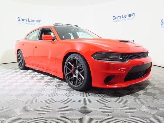 Sam Leman Dodge >> 2C3CDXGJ8GH339799 - 2016 Dodge Charger R/T Scat Pack 392 ORANGE Sedan SRT HEMI 6.4L