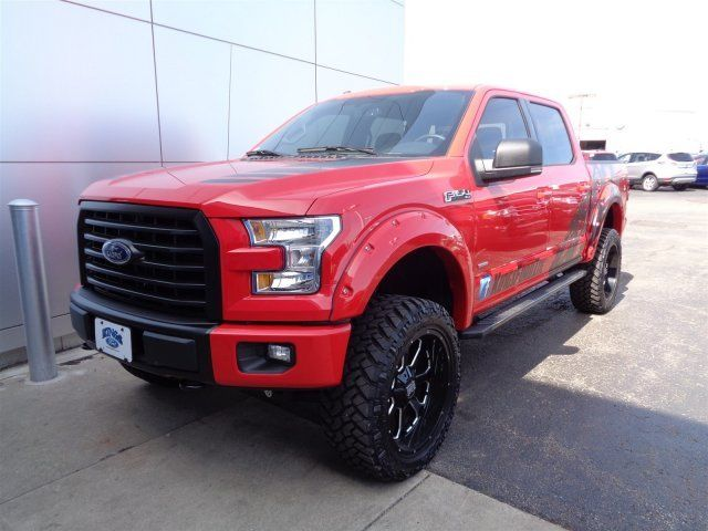 1ftew1eg1gkd72395 2016 ford f 150 6 dsi lift kit supercrew 4x4 927 miles race red crew cab pickup. Black Bedroom Furniture Sets. Home Design Ideas