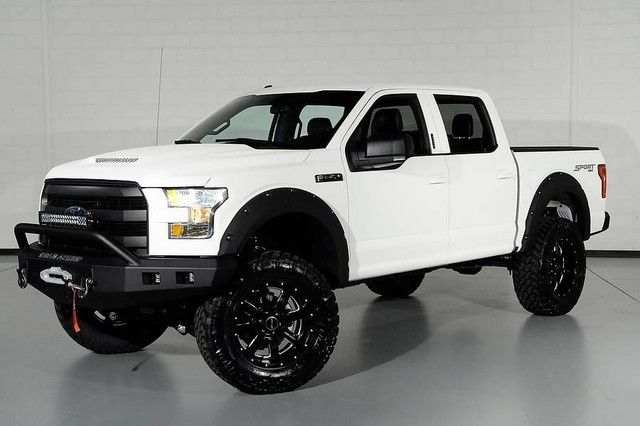 1FTEW1EF9GKE16487 - 2016 Ford F150 CrewCab 4x4 4WD White ...