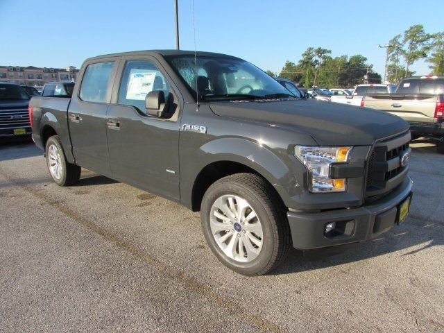 1ftew1cp9gkf63825 2016 ford f150 xl 5 miles lithium gray crew cab pickup twin turbo regular unlead. Black Bedroom Furniture Sets. Home Design Ideas