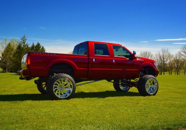 Ford F350 6 Door >> 1FT8W3BT6GEA79312 - 2016 Ford F350 PLATINUM, 26x16 Specialty Forged, Icon lift, Bodyguard bumpers