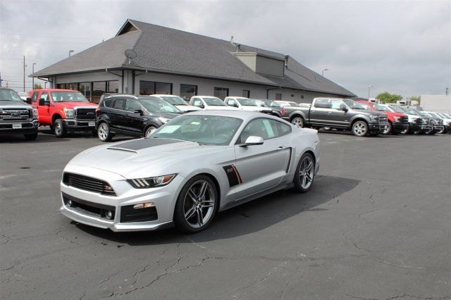 1fa6p8cf1g5337025 2016 ford mustang roush stage 3 coupe automatic 21 miles ingot silver metallic. Black Bedroom Furniture Sets. Home Design Ideas