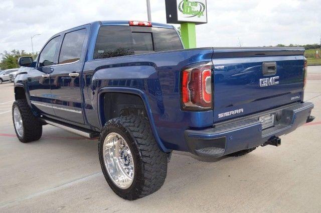 3gtu2pec6gg120625 2016 gmc sierra 1500 denali custom truck american force wheels. Black Bedroom Furniture Sets. Home Design Ideas