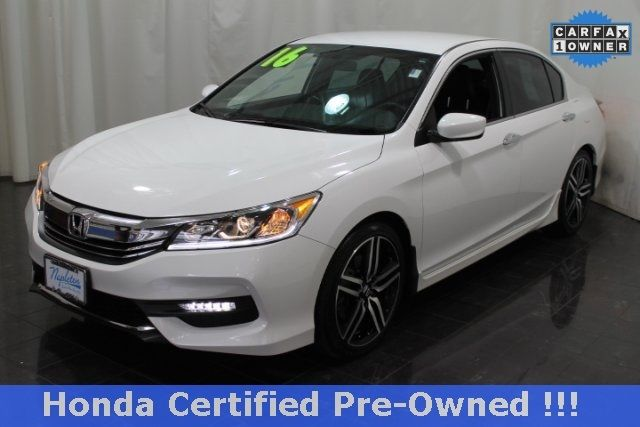 1hgcr2f51ga025917 2016 honda accord sport 12519 miles white orchid pearl 4d sedan 2 4l i4 dohc i v. Black Bedroom Furniture Sets. Home Design Ideas
