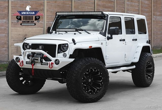 "Jeeps For Sale Houston >> 1C4BJWDG7GL331022 - 2016 Jeep Wrangler Sport Unlimited, Nav, Bluetooth, Custom Leather, 4"" Lift"