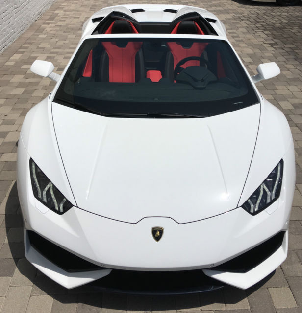 Zhwur1zf5gla05010 2016 Lamborghini Huracan 300k Msrp