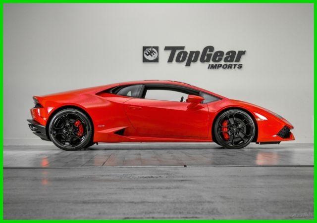 Zhwuc1zfxgla03853 2016 Lamborghini Huracan 610 4 3k Msrp 1 Owner