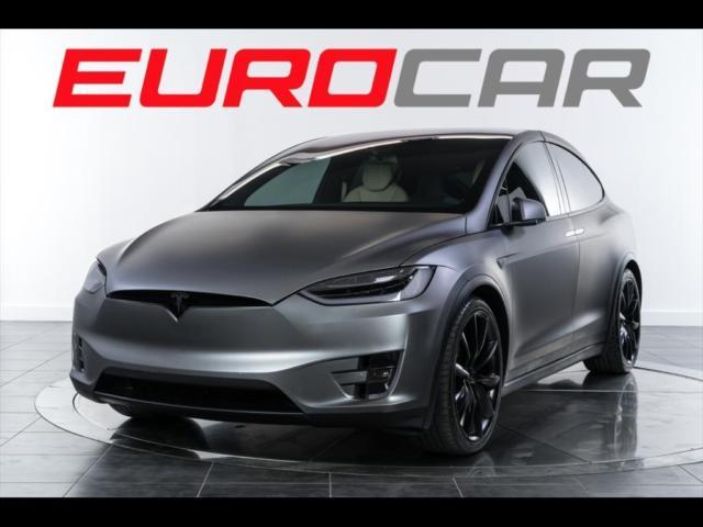 Used Tesla Model X For Sale >> 2016 Tesla Model X P100D, ONE OF A KIND CUSTOM SATIN WRAP ...